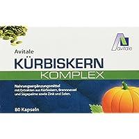 Avitale Kürbiskern Komplex Kapseln, 80 Stück, 1er Pack (1 x 70 g) preisvergleich bei billige-tabletten.eu