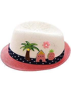 Sombrero de Bordado de Letra Árbol de Coco para Fiesta Ceremonia Bebé Gorras de Jazz Niñas Niños Sombrero de Rendimiento...