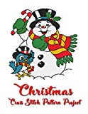 Christmas Cross Stitch Pattern Project: Holiday patterns for Cross Stitch, Perler, Qixels, Hama, Simbrix, Fuse, Melty, Nabbi, Pyslla and more! (Cross Stitch Pattern Books Book 1) (English Edition)