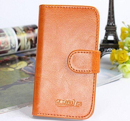 Prevoa ® 丨Flip PU Case Schutzhülle Tasche für JIAYU S3 / S3 Advanced 5.5 Zoll Smartphone - (3)