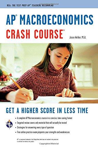 AP(R) Macroeconomics Crash Course Book + Online (Advanced Placement (AP) Crash Course)