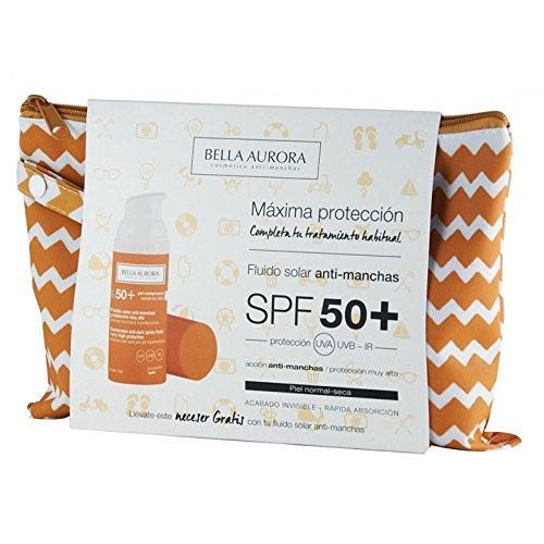 Bella Aurora Anti Dark Spot Fluid Sunscreen Spf50 50ml Coffret 2 Produits