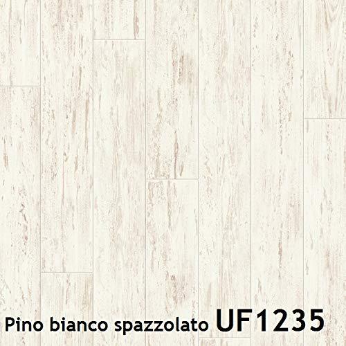 Pavimento in laminato Quick Step | PERSPECTIVE Prezzo per pacco da 1,507 m² (Pino bianco spazzolato UF1235)