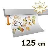 hang-it Klemmleiste Klemmschiene aus Aluminium - 125 cm DIN A0 Querformat - zur Präsentation von Fotos, Bildern, Postkarten