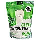 ZEC+ WHEY CLEAN CONCENTRATE Protein Shake 1 kg, für gesunden Muskelaufbau, fantastischer Geschmack~20% BCAAs~45% EAAs, Eiweiß-Konzentrat Made in Germany - Milch und Honig