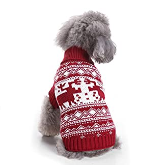 aisuper dogs print sweater hoodie for small large pets pattern warm autumn winter halloween christmas xmas party clothes cute jumper for chihuahua french bulldog pug golden retriever schnauzer poodle corgi samoyed border collie shih tzu yorkshire basset hound beasle 19 optional size s-2xl 2x-large red2 Aisuper Dogs Print Sweater Hoodie For Small Large Pets Pattern Warm Autumn Winter Halloween Christmas Xmas Party Clothes Cute Jumper For Chihuahua French Bulldog Pug Golden Retriever Schnauzer Poodle Corgi Samoyed Border Collie Shih Tzu Yorkshire Basset Hound Beasle 19 Optional Size S-2XL 2X-Large Red2 51w4rGKIr6L