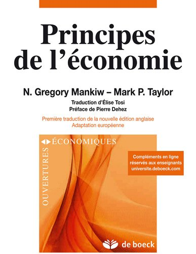 Principes de l'conomie : Adaptation europenne