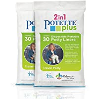 Kalencom 2-in-1-Potette Plus /30/Z/ählen /mit Potette Plus Einleget/üten/ blau/