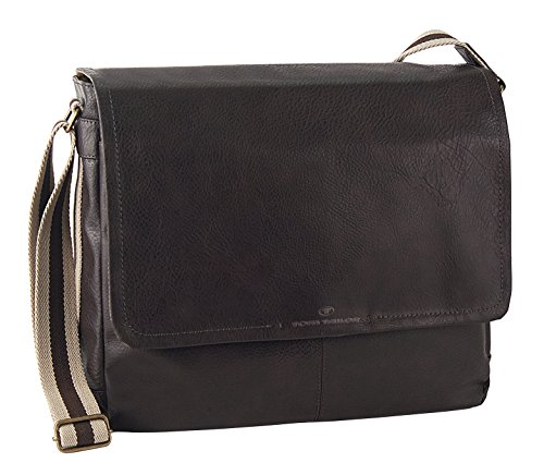 Tom Tailor Acc KENTUCKY 10027 Herren Umhängetaschen 38x30x12 cm (B x H x T), Braun (braun 29) (Tasche Aktentasche International)