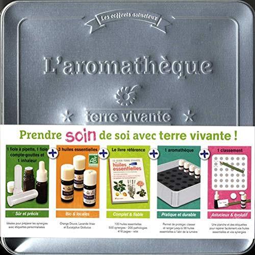 L'aromathèque Terre vivante : Avec 3 huiles essentielles, 1 fiole à pipette, 1 fiole compte-gouttes, 1 inhaleur, 1 aromathèque