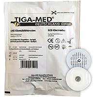 Preisvergleich für EKG Einmal Elektroden mit Festgel/Solidgel 43 mm 1000 Stück Einmalelektroden Einmal- Klebe- Elektroden Typ: Tiga-Med...