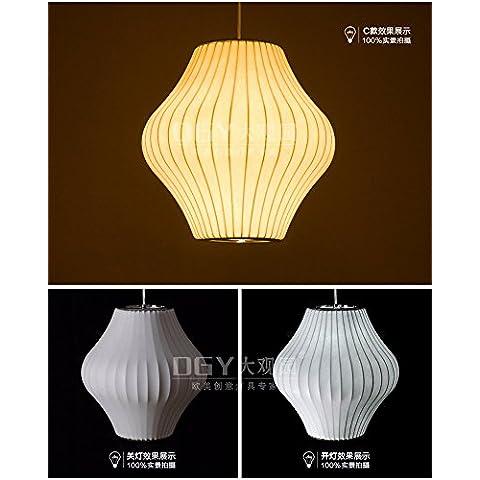 Tytk Sericina 30*32cm lampadari, American industrie rurali sala biliardo Biliardo lampadari retrò caffetterie ristoranti lampada nostalgico