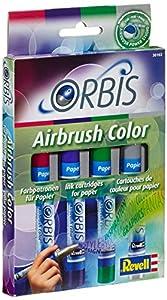 Orbis - Pack de cartuchos de color para aerógrafo Importado de Alemania