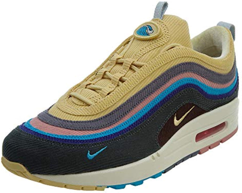 Nike Mens Air Max Max Max 1 97 VF SW Sean Wotherspoon LT blu Fury Lemon Wash Fabric Dimensione 8.5 | tender  ee4364