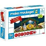 Dujardin - 39012 - Kit De Loisirs Créatifs - Mako Moulages Crèche - 5 Moules