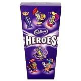 Cadbury Heroes Chocolate Carton 350g (Pack of 6)