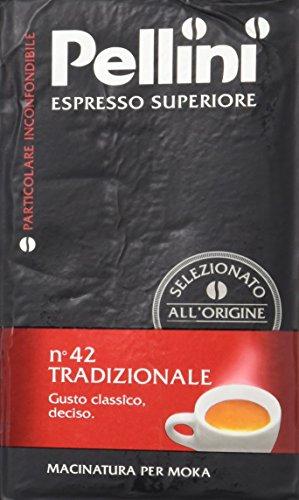 Pellini Tradizionale No. 42, Espresso gemahlen, 250 g