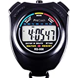 ProCoach Sports Stopwatch Timer RS-008 - Large Display Water Resistant Professional The Athlete s Choice