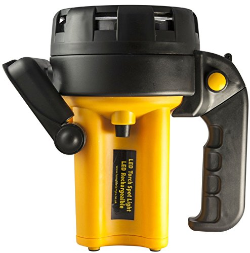 51w4xHCXSaL - Rechargeable LED Work Light Torch 1 Million Candle Power Spotlight Hand Lamp