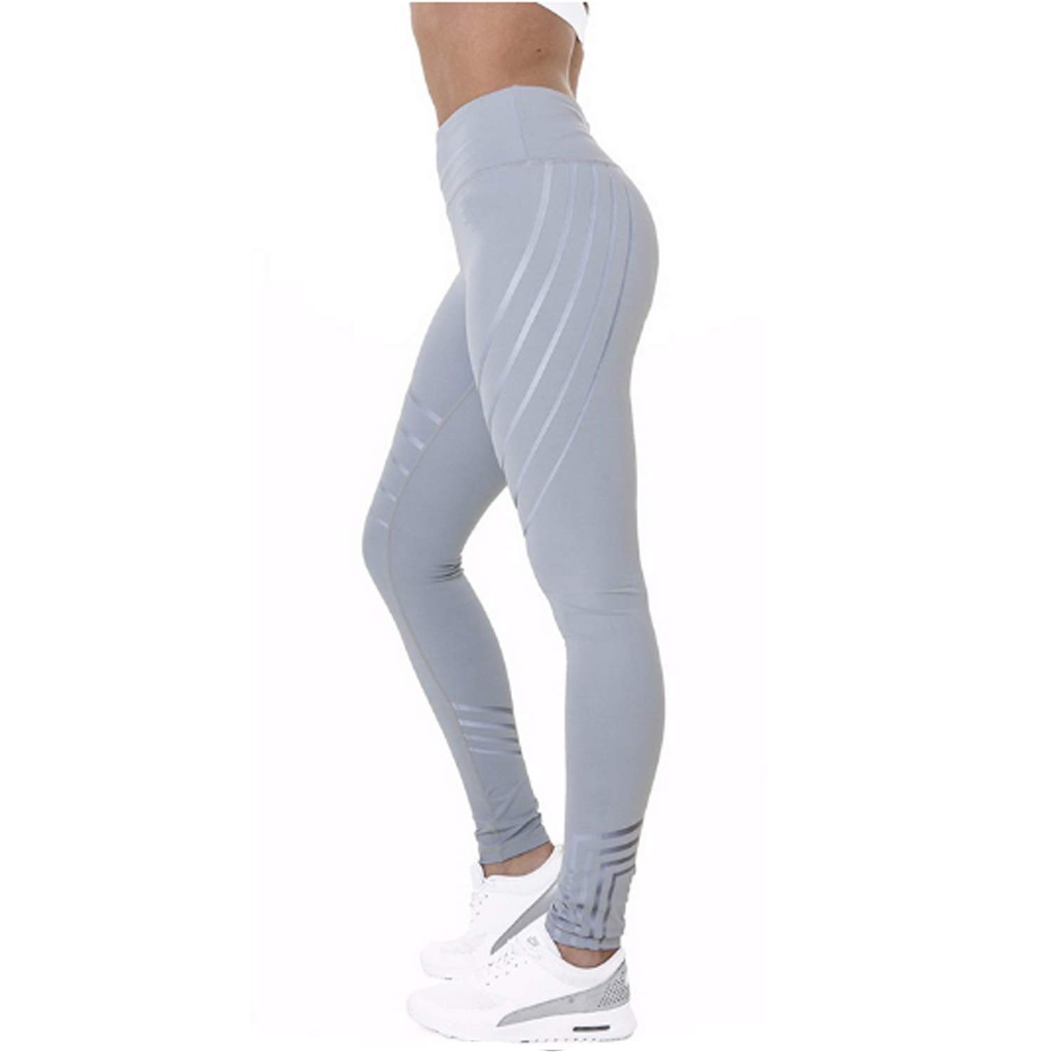 69fe0a1d8ce92b Women Sports Pants Sexy Skinny Patchwork Gym Workout Training Yoga Leggings  Running Trousers - UKsportsOutdoors