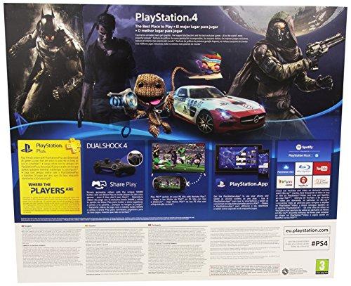 Sony 500GB Reedición PlayStation 4 – Consola Básica, Nuevo Chasis