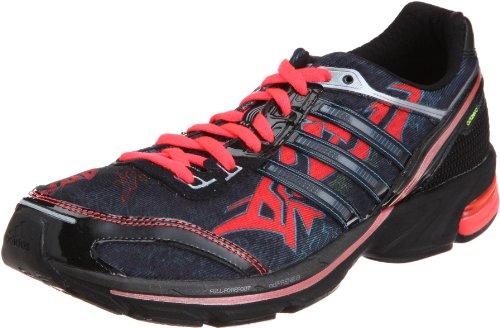 Adidas ADIZERO BOSTON 2 GRAPH Schwartz Rot Blau Herren Laufschuhe Neu Schwarz