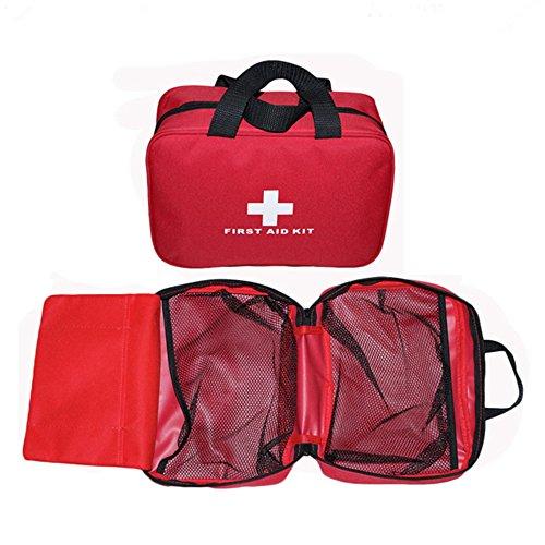 Dettagli del prodotto: Peso dell'articolo: 120g Peso del pacchetto: 150g Dimensioni: 26x18x8cm Materiale: nylon Nota: Se acquisti una borsa vuota, non contiene forniture di pronto soccorso, solo uno sacco.