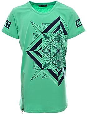 Jungen Kinder T Shirt Oversize Bluse Kurzarm Shirts Long Sleeve Sweat 21083