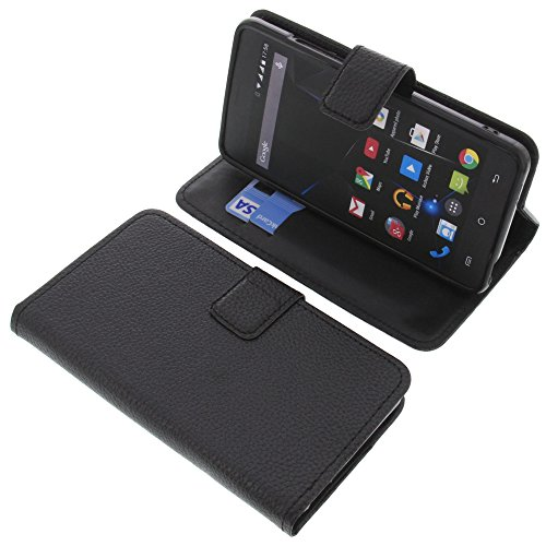 foto-kontor Tasche für Archos 50d Oxygen Plus 50D Oxygen Book Style schwarz Schutz Hülle Buch