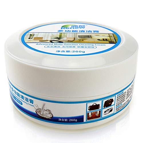 Fanxing Multifunktionales Leder Auffrischungsreiniger Reinigungscreme Repair Tool Cream (Weiß)