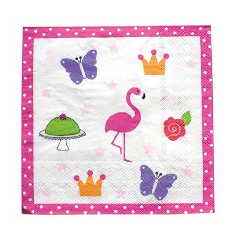 Preisvergleich Produktbild Papierservietten Flamingo von JaBaDaBaDo