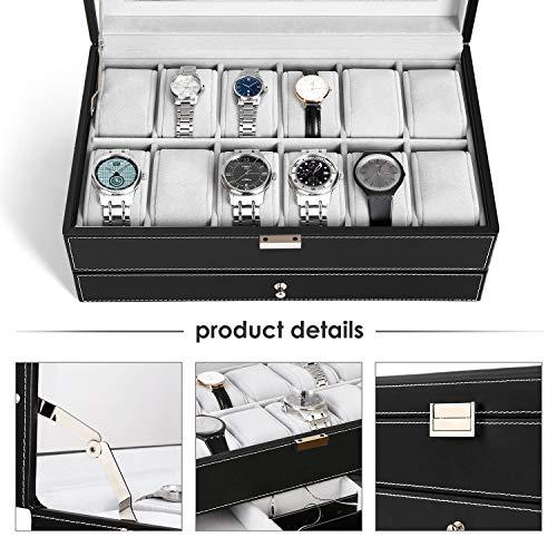 Zoom IMG-3 amzdeal scatola di orologio custodia