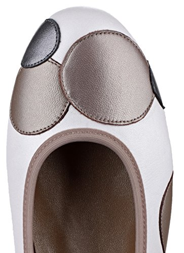 Riva Moosha Leather Chaussures occasionnelles Taupe/White