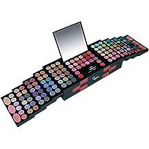 Gloss! DC016-1 Trucco Palette Professionale, 151 Pezzi, Nero