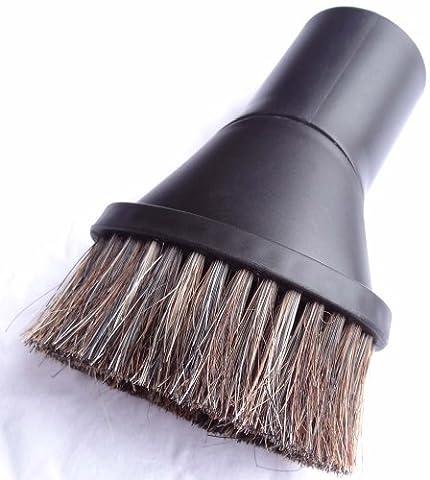 Drehbarer Naturhaar Saugpinsel passend für Miele Parkett & Co. 5000 inkl. 1 Rolle 16l Abfallbeutel