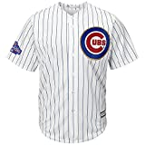 Official Majestic Chicago Cubs Commemorative 2016 World Series Champions Anthony Rizzo Mens Jersey