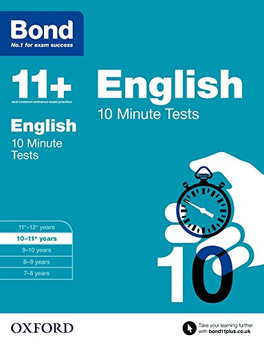 bond-11-english-10-minute-tests-10-11-years
