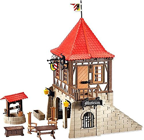 PLAYMOBIL KNIGHTS SET #6307 MEDIEVAL MUSEUM BY KNIGHTS