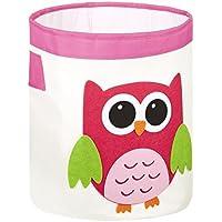 """FABELBUNT® Caja para juguetes grande """"lechuza"""" (capacidad de 33 litros)"""