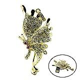 Civetman 16GB Rhinestone-Diamant-Metallschmetterling USB-Blitz-Antrieb, Art- und Weiseschmucksachen Bling glänzender Kristallanhänger