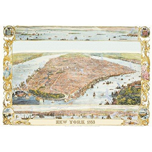 Piatnik- Plan DE New York 1853, 5429