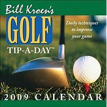 Bill Kroens Golf Tip-A-Day 2009 Box Calendar