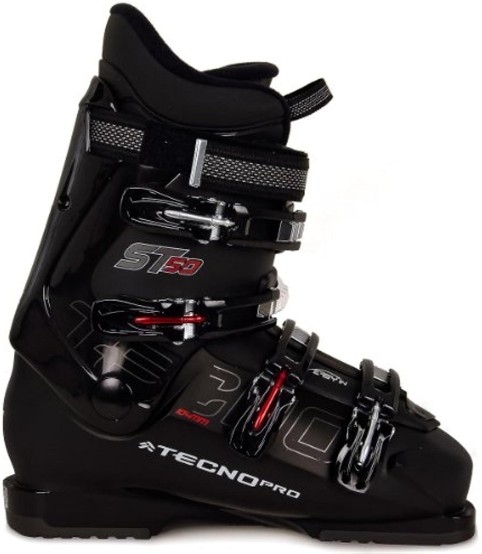 Tecno Pro ST 50 MS - Botas de esquí para hombre, color negro negro negro Talla:28.5