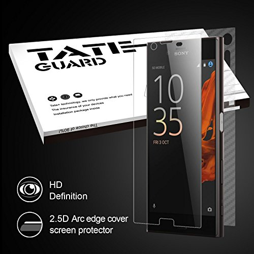 hd-clearsony-xperia-xz-screen-protectortateguard-tempered-glass-screen-protectoreasy-to-install9h-ha