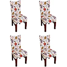 Amazon Co Uk High Back Dining Chair Covers