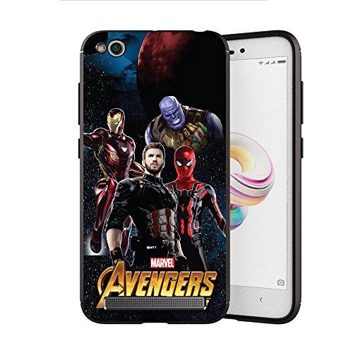 MTT Avengers Infinity War Officially Licensed Armor Back Case Cover for Redmi 3S Prime & Redmi 3S (Design 270)