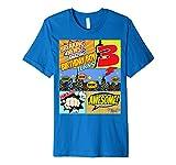 Superheld Geburtstag Shirt Jungen 3Amazing Awesome Super