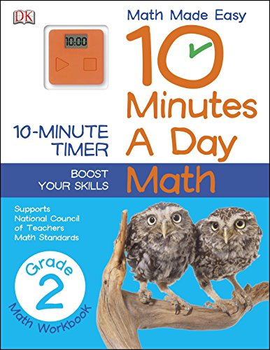 10 Minutes a Day: Math, Second Grade: Supports National Council of Teachers Math Standards