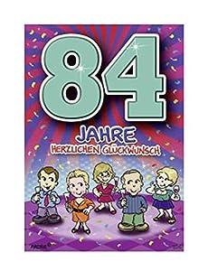 Depesche 5598.106Tarjeta de felicitación con diseño de Archie, 84. Cumpleaños