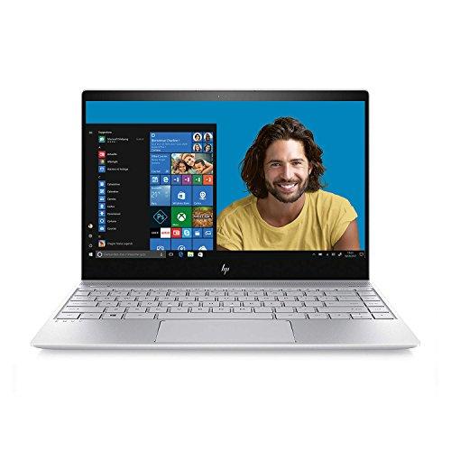 HP ENVY 13-ad106nf Ultrabook 13' Full HD ( Intel Core i5, 8 Go de RAM, SSD 256 Go, Intel UHD 620, Windows 10) Argent finition aluminium